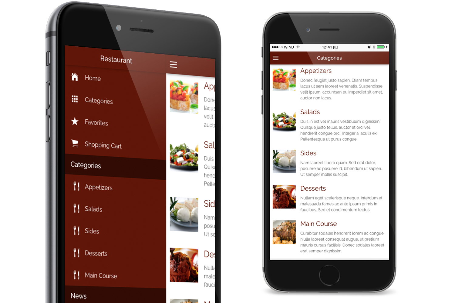 Restaurant-ionic-classy--full-application-with-firebase-backend